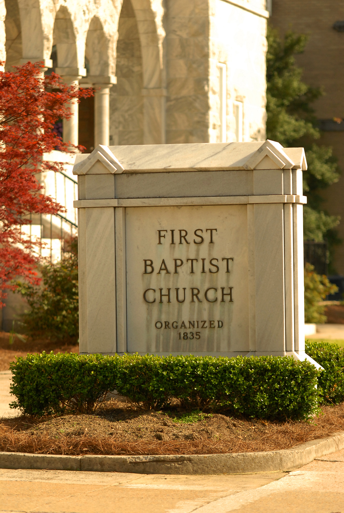 Atlanta area baptist churches for weddings and receptions for First ch