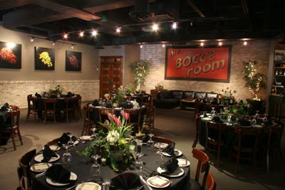 The Bocce Room at Ippolito's in Roswell - Photo