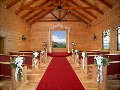 Angel 39 S View Wedding Chapel Pigeon Forge Tennessee