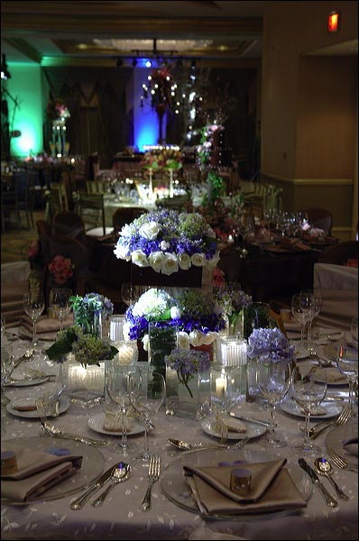 Elegant Wedding Table Decorations Chair Covers Linens and Centerpieces for