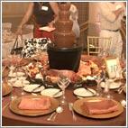 amore de cocao Wedding Table Decor