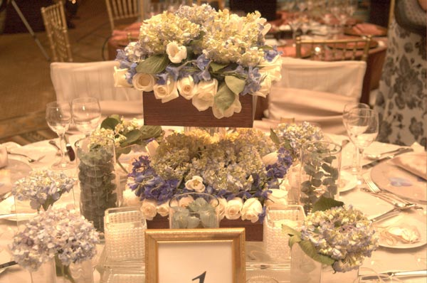 Elegant Themed Wedding Table Decor - Article # 2488