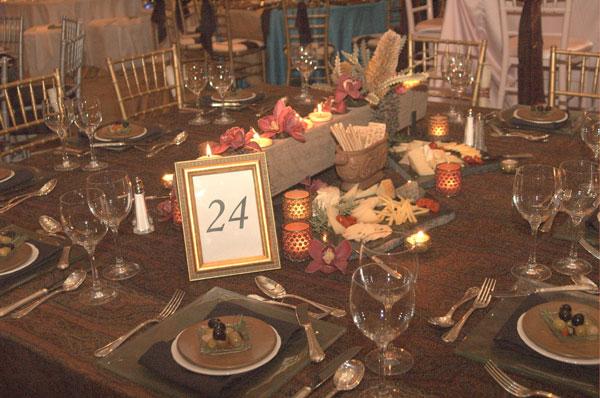 Mediterranean theme wedding table decorations junglespirit Image collections