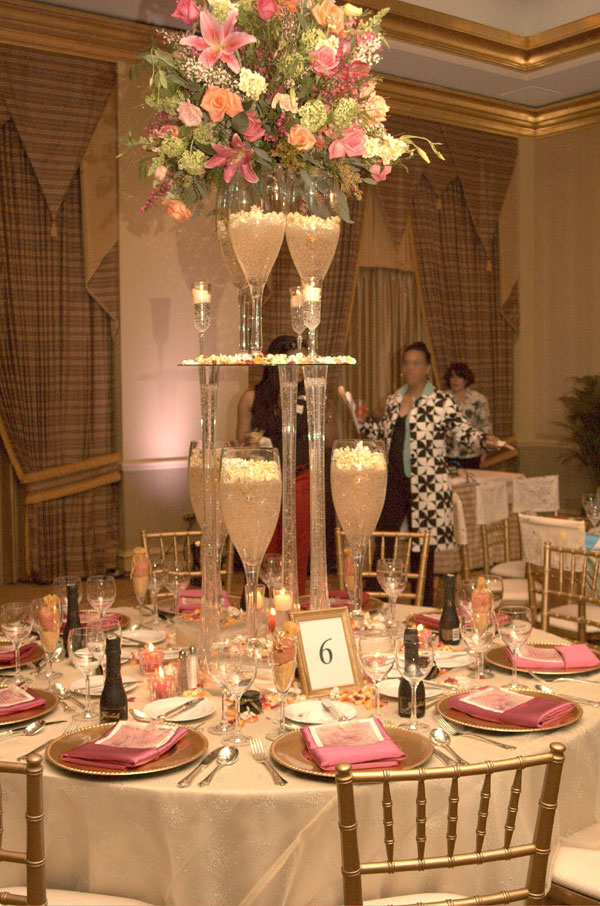 Champagne Wishes And Caviar Dreams Wedding Table