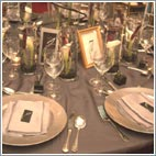 Sophisticated Lady Wedding Table Decor