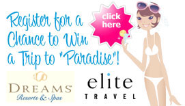 Register for a Chance to win a Trip to Paradise